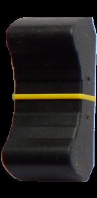 KNB048 - Yellow fader knob
