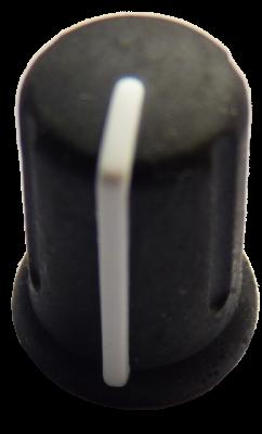 KNB052 - Rotary knob - white line