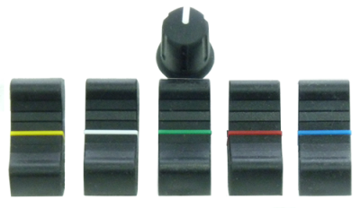 Fader knobs for consoles