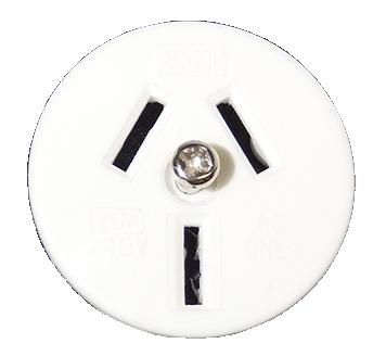 CON734 - 20 amp face plate